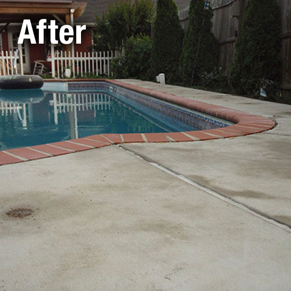 Charleston, Concrete Pool Deck Leveling - After