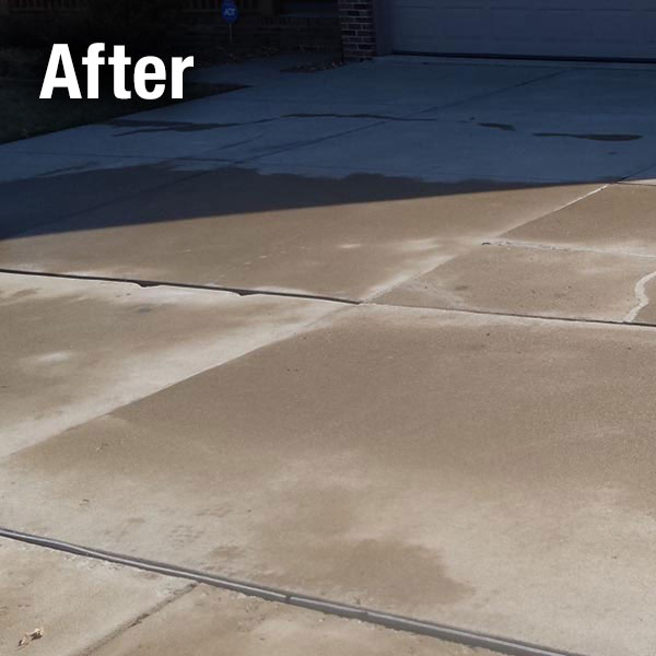Charleston Concrete Driveway Leveling - After